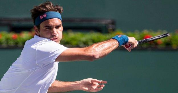 Stormötet absent – Federer final