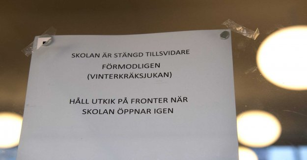 Stubborn stomach in Borås kindergartens