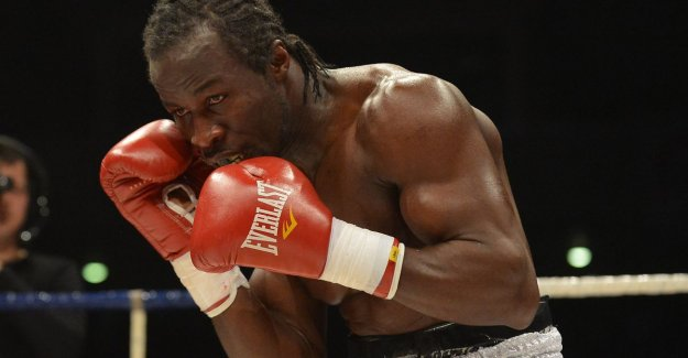Sugar Jackson about his dream and why he's the boxing ring had to leave: Stopped for medical reasons? Nothing