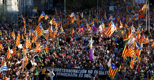 Tens of thousands of separatists to carry the Protest to Madrid