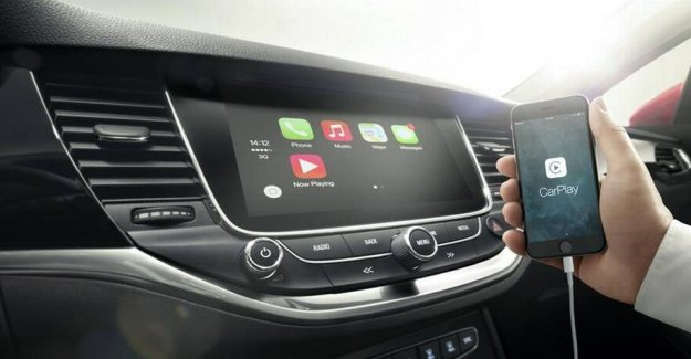 Test: Apple occupies the screen in the cars