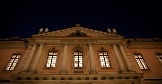 The Swedish Academy, the century-old contract torn up