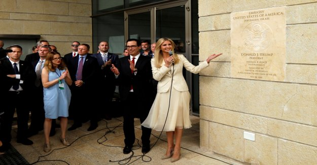 The US consulate moved in Jerusalem