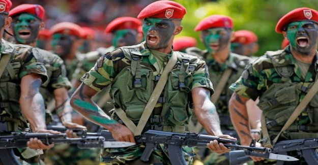The Zurich company provided machines for arms deal from Chavez and Putin