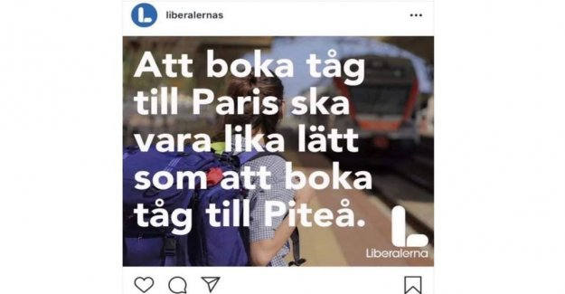 The liberal annonsmiss – go no trains to Piteå