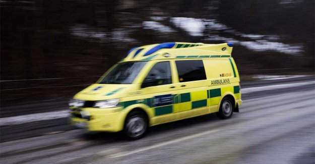 Two to hospital after head-on collision