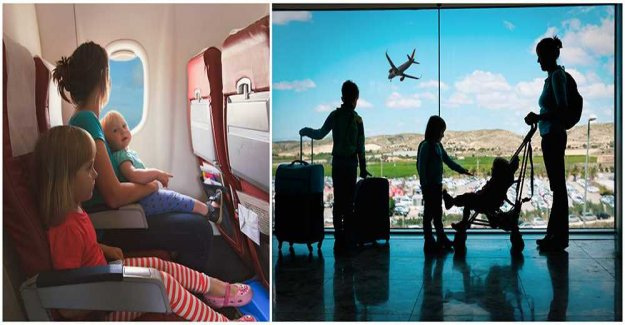 Unnecessary fees for families on airlines