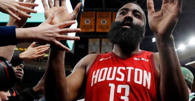 VIDEO. Harden leads Rockets in Boston to gain
