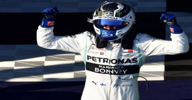 Valtteri bottas of dominance were followed for the Mercedes-stall acidic - winning wasn't the only good news: Not so much smiling
