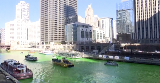 World-renowned tradition: Paint the river green