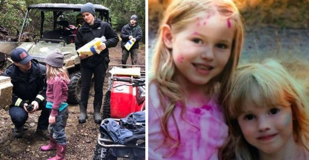 Young sisters found unharmed – after 44 hours in the woods