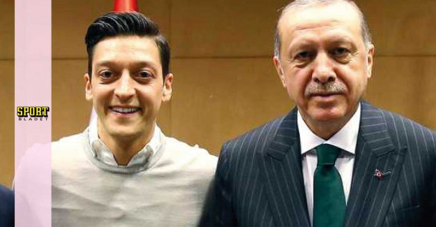 Özils new invitation with the controversial leader