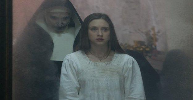 A demon wearing a Nun's habit