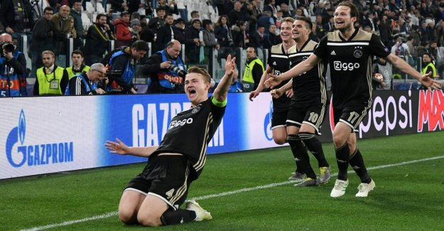 Ajax new bang – to the semi with Barcelona