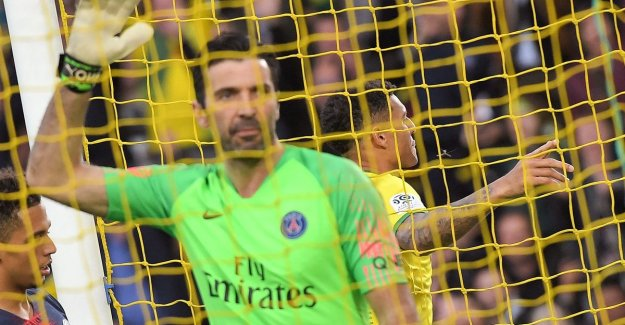Also in Nantes, it runs wrong: PSG has title still does not bite after new wanvertoning