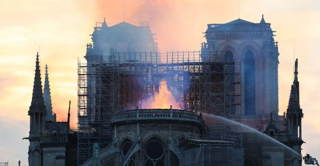 BV's comment on the fire of Notre-Dame: A part of Paris is lost
