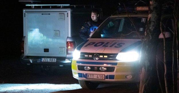 Big police operation outside Karlskrona