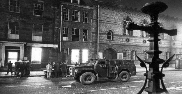 British ex-soldier accused of murder in 1972