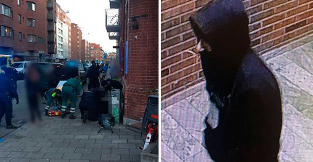 Calls for the person after the murder of 51-year-old in Malmö