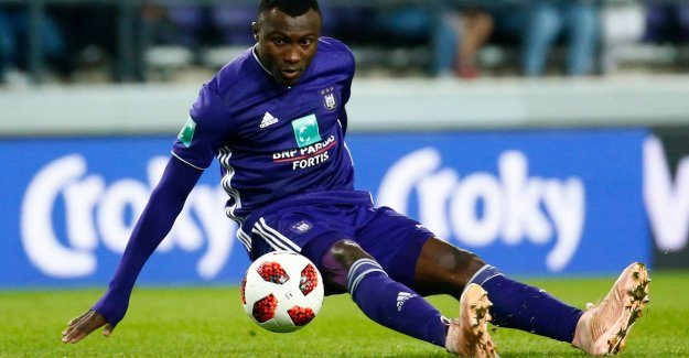 Coucke explains how 'man of 8 million Sanneh at Anderlecht ended up: 'Please, other names, we asked. But he insisted on two options