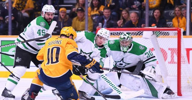 Dallas took the match to five – Nashville bad looking