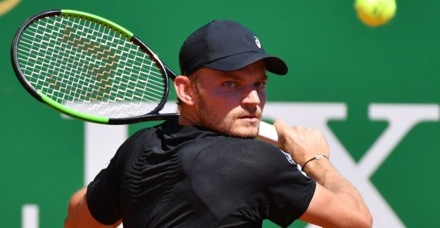 David Goffin beats Argentine in Monaco and stands in second round