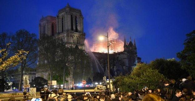 Fire protection engineer: One can reconstruct the Notre-Dame