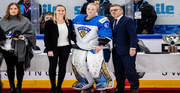 IS a Finnish businessman business woman to the lions market party and gold medals - star goalie Noora Rädyltä strict receipt: now, If you first asked us players
