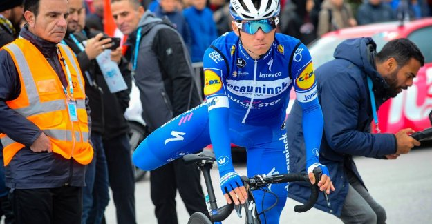 Impressive Evenepoel is full of his chance in the queen's stage in Turkey, and finally fourth