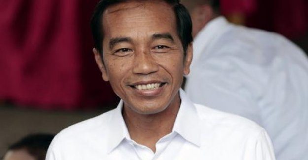 Indonesia's President Widodo is facing a clear electoral victory