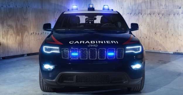 Italy antiterrorkorps upgrade: So crazy is the new patrol car