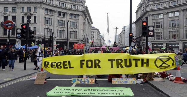 Kilmatdemonstranter want to close down London