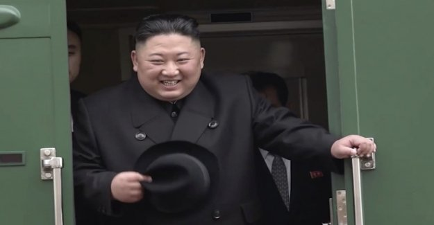 Kim Jong-un with armoured train arrived in Russia