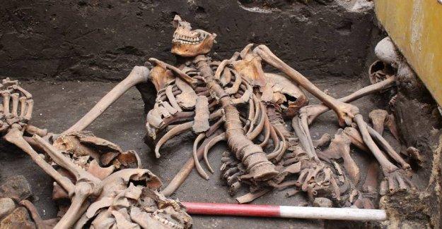 Mass grave found in Denmark