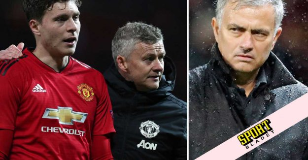 Mourinho is critical of the fact Solskjaers tactics
