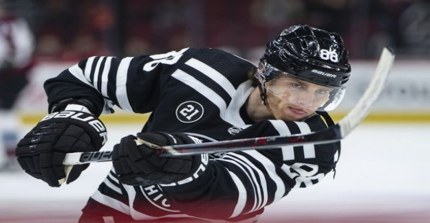 Now came the Lions ' defense in a hurry! MM-opponent USA got the NHL monstrous confirmation - more than 100 points of Patrick Kane's cup