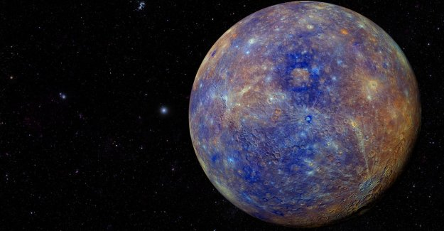 Planet Mercury shows huge hard core to have