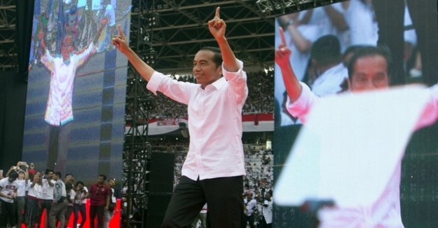 President Widodo is Indonesia's choice on the front
