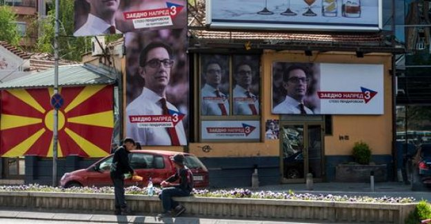 Presidential election in the North of Macedonia is characterised by renaming