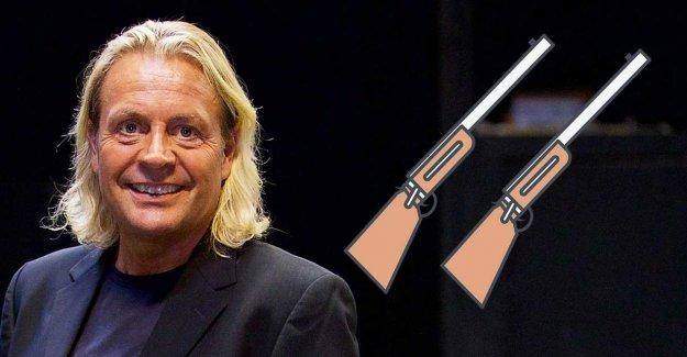 Runar Søgaard get back their weapons