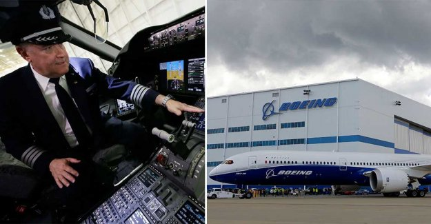 Skräcklarmar Boeing: Ignore the security