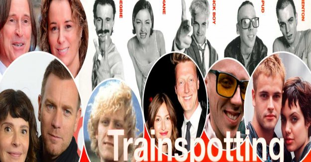 So it was late for the gang in Trainspotting