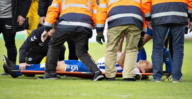 Superliga profile have got the judgment after the nasty accident