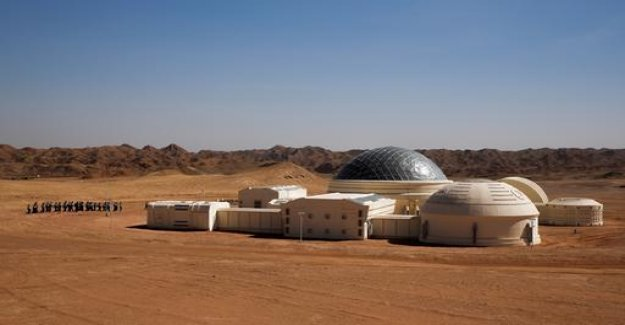 The Mars simulation base in the desert of China opens to visitors