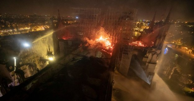 The false claims spread after the Notre-dame-the fire