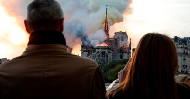 The world shaken by the fire in the Notre-Dame