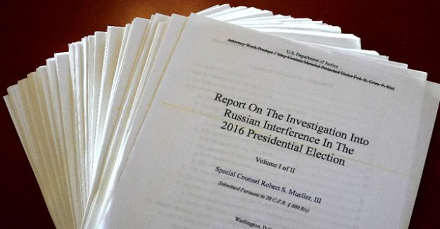 These are the main points from the Mueller report
