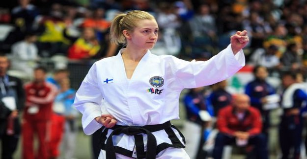 What a great start! Finland snatched as soon as four taekwon-don MM medal, juniors two gold