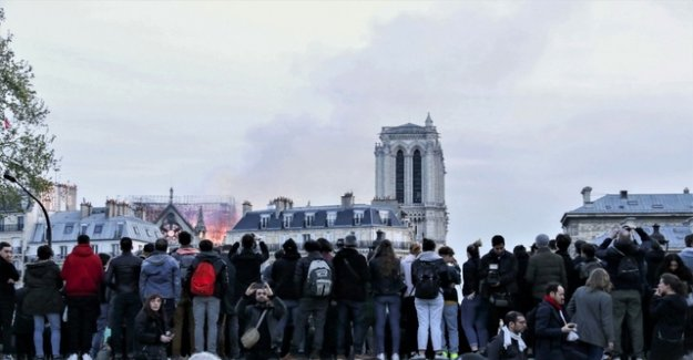 Youtube fire confused in Paris with 9/11