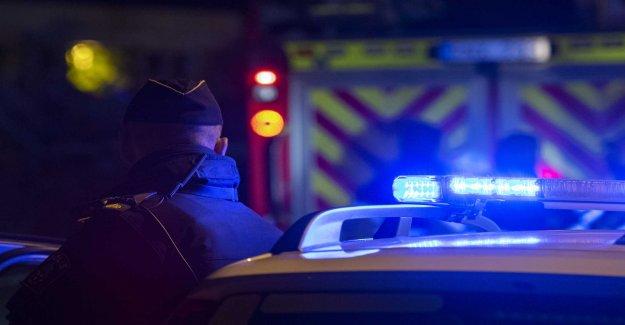 A death in the bostadsbrand in Örnsköldsvik